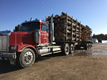 Western Star Road Tractor with log trailer